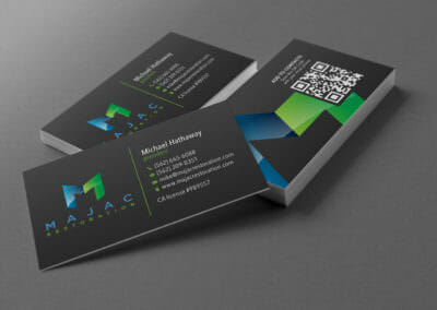 Business Card Designs | MAJAC Restoration