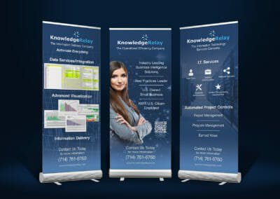 Standing Trade Show Banners | Knowledge Relay