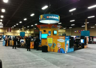 Trade Show Booth Designs | Evisions