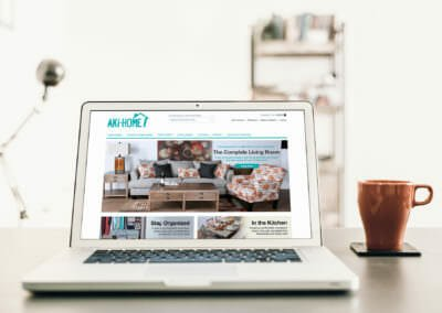 Responsive E-commerce Websites | Aki-Home