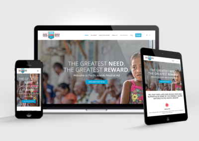 Responsive Websites | Pacific Medical Aid, Inc.
